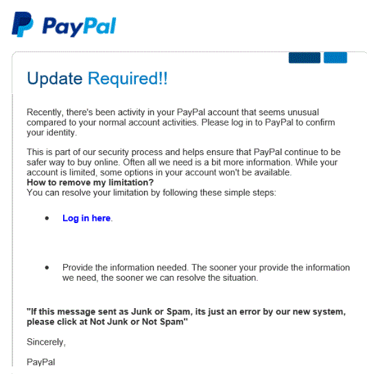 paypal-update-required